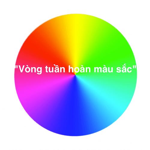 Học trong 90 giây! Vòng tuần hoàn màu sắc