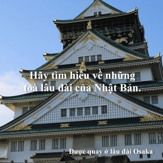 Tìm hiểu về Lâu đài Nhật Bản (Shiro) trong 90 giây