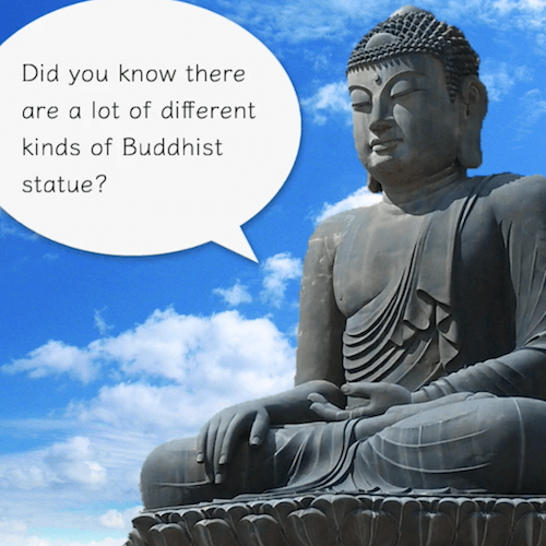 Learn the hierarchy among Buddhist statues in 90 seconds