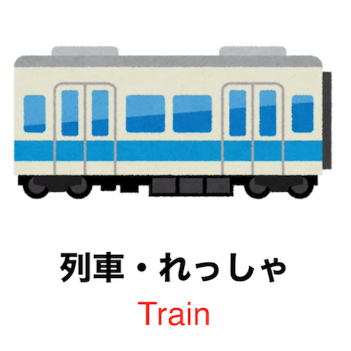 Learn Japanese vocabulary in 90 seconds - Theme: Trains!