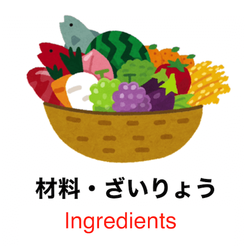 Learn Japanese vocabulary in 90 seconds - Theme: Cooking!