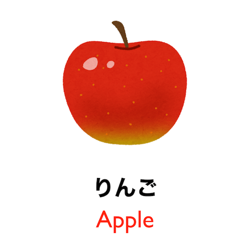 Learn Japanese vocabulary in 90 seconds - Theme: Fruit!