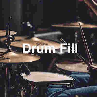 Learn how to play a basic drum fill in 90 seconds