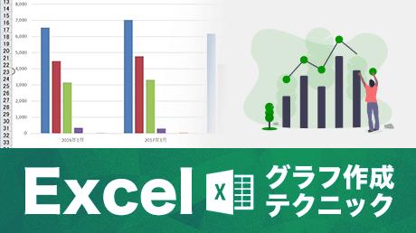 Excel 2016 グラフ作成テクニック超入門