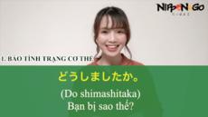 Những câu nói thường gặp khi đi khám bệnh tại Nhật Bản