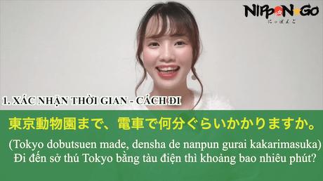 Tiếng Nhật thường gặp tại địa điểm tham quan du lịch