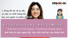 Cách dùng từ いい trong tiếng Nhật